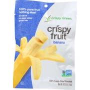 Crispy Green Crispy Fruit Banana, 0.53 Ounce -- 12 per case
