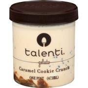 Talenti Caramel Cookie Crunch Gelato, 16 Fluid Ounce -- 8 per case