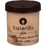 Talenti Chocolate Peanut Butter Gelato, 16 Fluid Ounce -- 8 per case