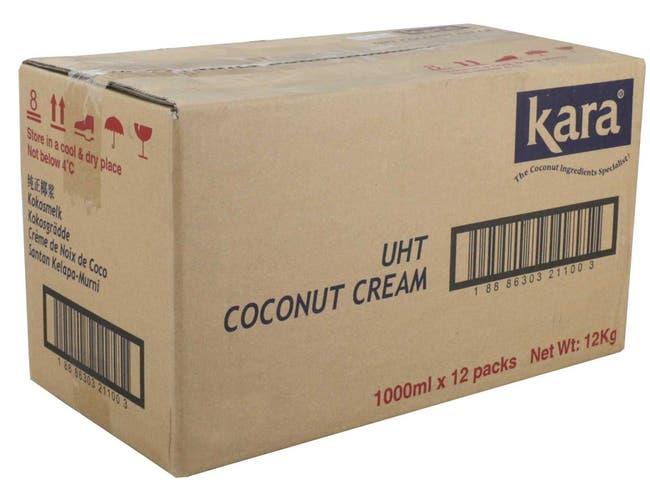 Savor Imports Coconut Cream, 33.8 Ounce -- 12 per case