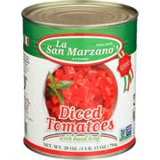 La San Marzano Diced Tomatoes, 28 Fluid Ounce -- 6 per case