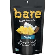 Bare Baked Crunchy Pineapple and Coconut Chips Medley, 1.8 Ounce -- 12 per case