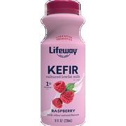 Lifeway Raspberry Low Fat Kefir, 8 Ounce -- 6 per case.