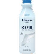 Lifeway Probiotic Low Fat Plain Kefir, 32 Ounce -- 6 per case.
