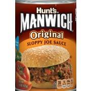 Hunts Manwich Original Sloppy Joe Sauce, 15 Ounce -- 24 per case