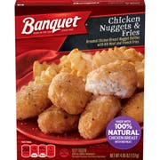 Banquet Basic Chicken Nuggets and Fries, 4.85 Ounce -- 12 per case.