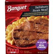 Banquet Basic Salisbury Steak, 8 Ounce -- 12 per case.