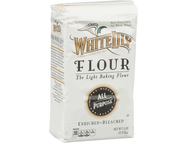 White Lily All Purpose Flour, 5 Pound -- 8 per case.