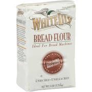 White Lily Bread Flour, 5 Pound -- 8 per case.
