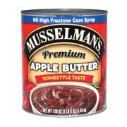 Musselmans Premium Apple Butter, 120 Ounce -- 3 per case.