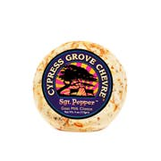 Cypress Grove Chevre Sgt Pepper Goat Milk Cheese Disks, 4 Ounce -- 12 per case.