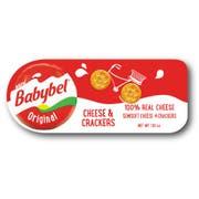 Mini Babybel Original Cheese and Cracker, 1.02 Ounce -- 10 per case.
