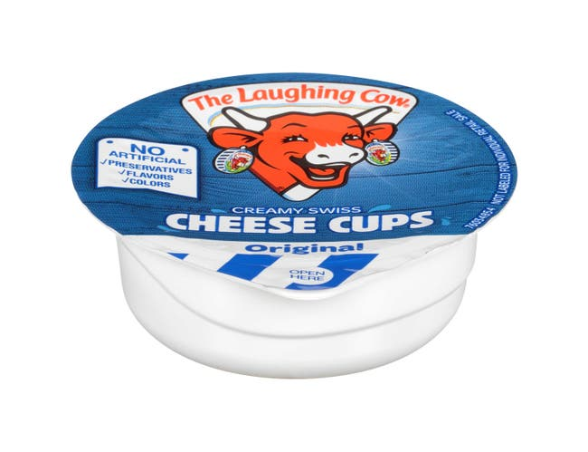 Laughing Cow Original Cheese Cup, 6 Ounce -- 12 per case.