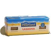 Heartland 100 Percent Whole Grain Lasagna Pasta, 14 Ounce -- 12 per case.