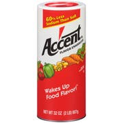 Accent Flavor Enchancer - 32 oz. can, 6 per case