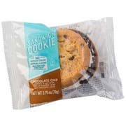 Our Specialty Individually Wrapped Chocolate Chip Sandwich Cookie - Display, 2.75 Ounce -- 48 per case