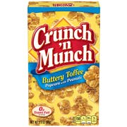 Crunch N Munch Butter Toffee Popcorn, 3.5 Ounce -- 12 per case