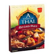 A Taste of Thai Red Curry Paste, 1.75 Ounce -- 24 per case.