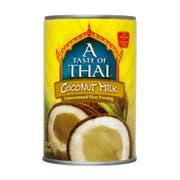 A Taste of Thai Coconut Milk, 13.5 Fluid Ounce -- 12 per case.
