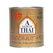 A Taste of Thai Coconut Milk, 99.7 Fluid Ounce -- 3 per case.