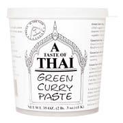 A Taste of Thai Green Curry Paste, 35 Ounce -- 3 per case.