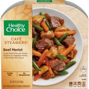 Healthy Choice Cafe Steamers Beef Merlot, 9.5 Ounce -- 8 per case.