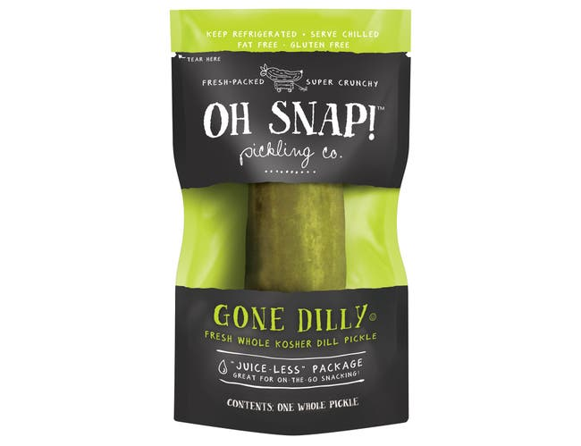 Oh Snap Gone Dilly Dill Pickle -- 12 per case.
