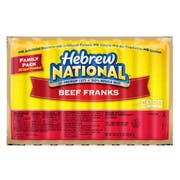 Hebrew National Beef Frank, 34.1 Ounce -- 10 per case.
