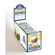 Ne Mos Banana Cake Square - 6 count per pack -- 6 packs per case.