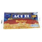 Act II Microwave Tray Butter Popcorn, 2.75 Ounce -- 72 per case