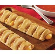 The Max Whole Grain Cheddar and Mozzarella Twisted Stix, 2.52 Ounce -- 96 per case.