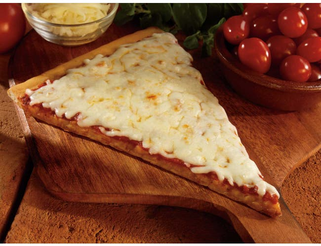 Conagra The Max Whole Grain Cheese Slice Pizza, 4.67 Ounce -- 96 per case.