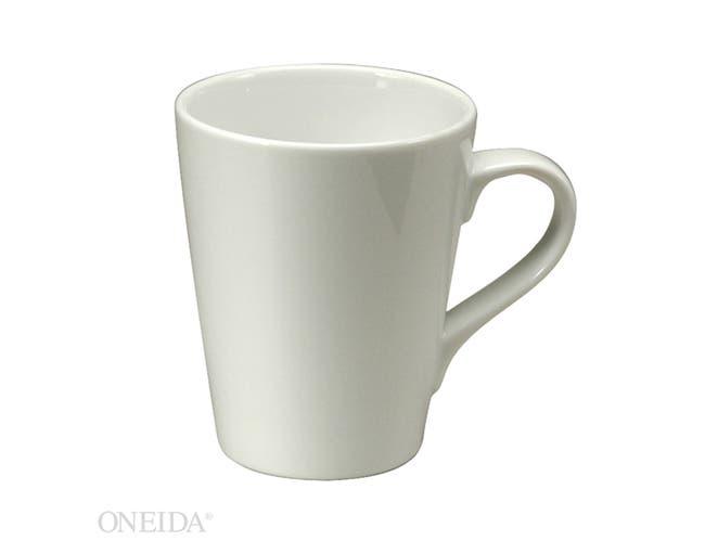 Sant Andrea Fusion Fine Porcelain Undecoratd Mug, 13 Ounce -- 36 per case.