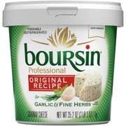 Boursin Original Recipe Garlic and Fine Herb Gournay Cheese, 2.2 Pound -- 2 per case