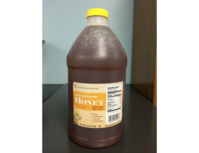 Groeb Farms EZ Pour Clover Honey, 5 Pound -- 2 per case.