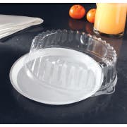 Yoshi Ware Emi Clear Round Dome Lid Only, 12 inch -- 25 per case.