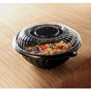 Yoshi Ware Emi PrepServe Pet Clear Lid Only, 10 inch Diameter -- 25 per case.