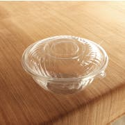 Yoshi Ware Emi PrepServe Pet Clear Lid Only, 12 inch Diameter -- 25 per case.