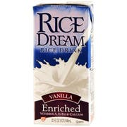 Hain Vanilla Enriched Rice Beverage, 32 Ounce -- 12 per case