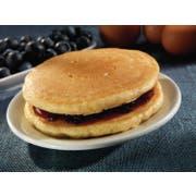 The Max Blueberry Glaze Whole Grain Pancake, 3 Ounce -- 80 per case.
