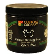 Chicken Flavored Paste Base Green 12 Case 1 Pound