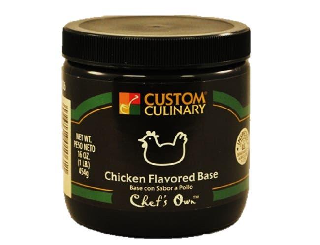 Chicken Flavored Paste Base Green 12 Case 1 Pound