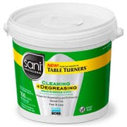 Sani Professional 1 Step Cleaning Plus Degreasing Multi Surface Cleaner Wipes, 100 count per pack -- 2 per case.