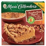 Marie Calenders Pumpkin Pecan Pie, 38 Ounce -- 6 per case.