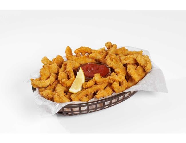 Pana Pesca Tenderized Breaded Squid Strip, 5 Pound -- 2 per case.