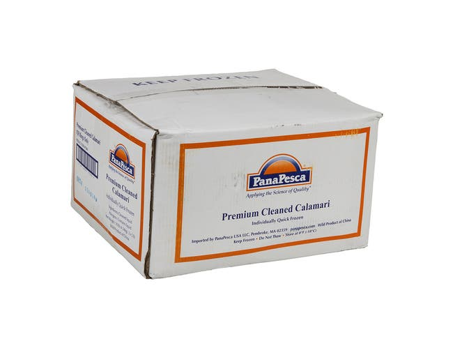 Pana Pesca Fully Cleaned Todarodes Squid Rings, 5 Pound -- 2 per case.