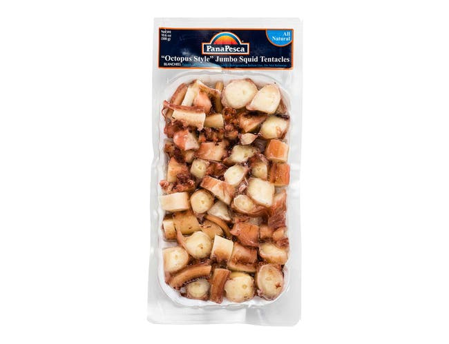 Pana Pesca Squid Jumbo Tentacles Blanched, 10.6 Ounce -- 12 per case.