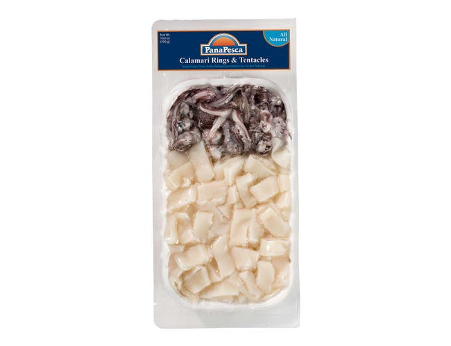 Panapesca Squid Rings and Tentacles, 10.6 Ounce -- 12 per case.
