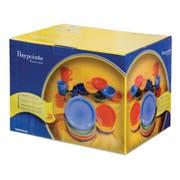 Crestware Bay Pointe Six Colors 24 Piece Box Set -- 2 per case.