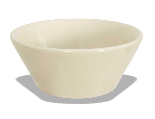 Crestware American White Gumbo Soup Bowl, 5 1/8 inch -- 36 per case.
